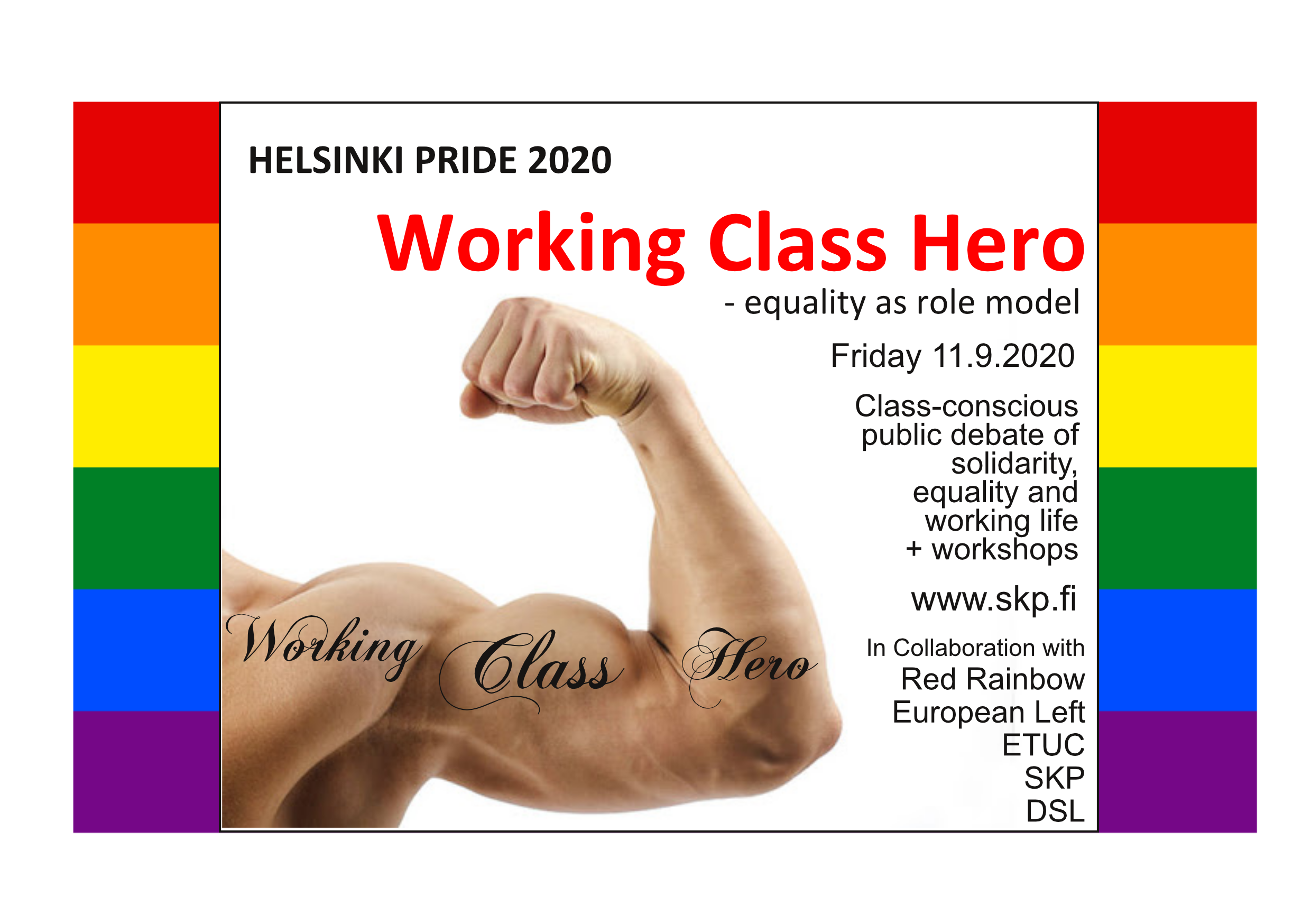 PRIDE 2020 Working Class Hero